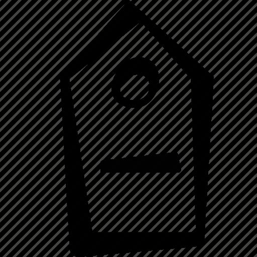 e-commerce, minus, price, remove, shopping, tag icon