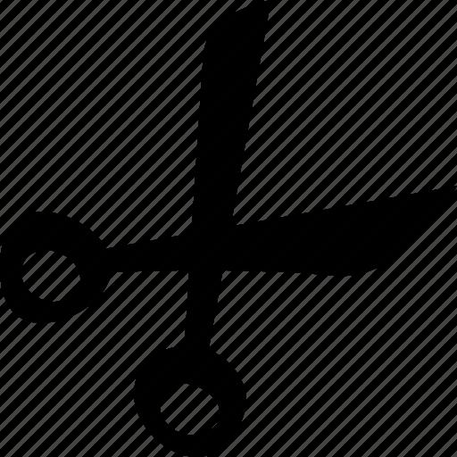 cut, scissors, tool icon