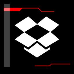 dropbox, internet, web icon