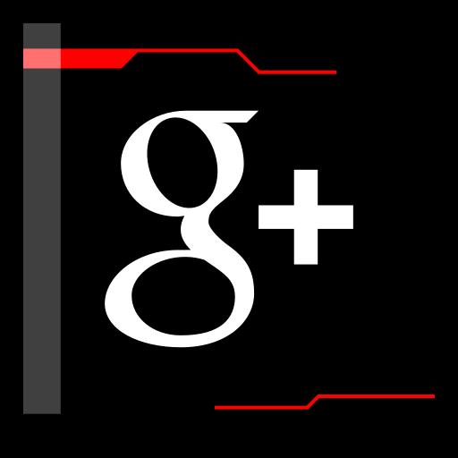 googleplus, internet, web icon
