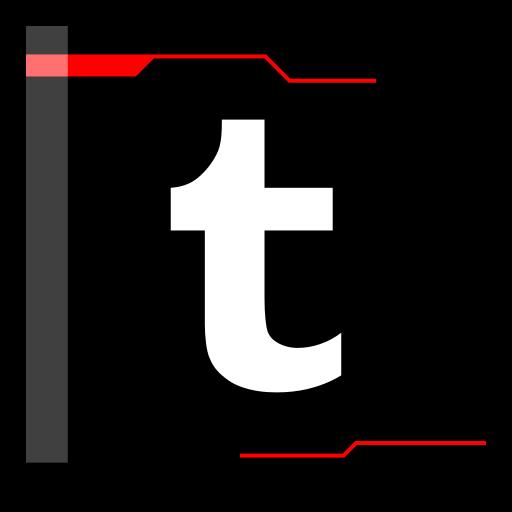 internet, tumblr, web icon