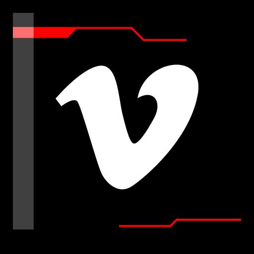 internet, vimeo, web icon