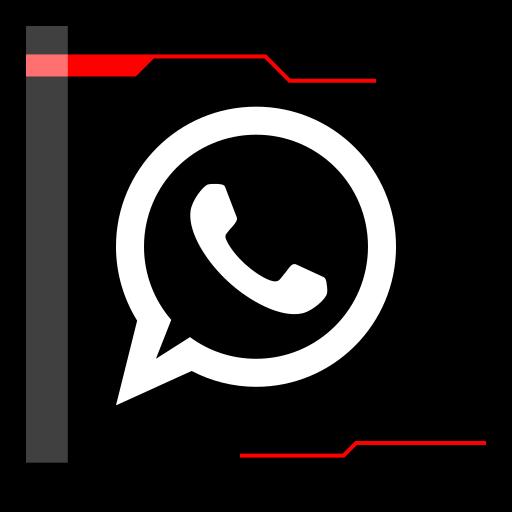 internet, web, whatsapp icon