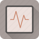 activity, health, heart, hospital, medical, stats icon