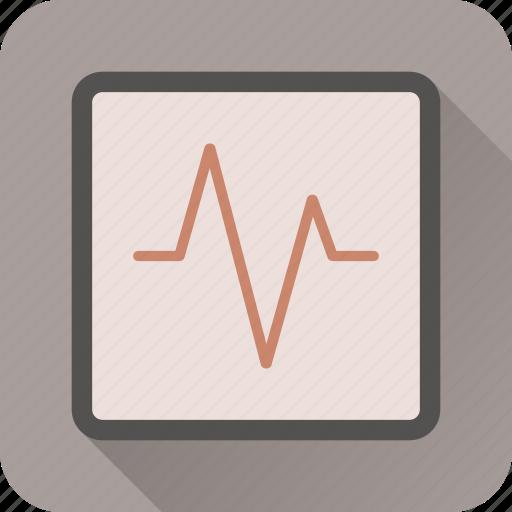 activity, health, heart, hospital, medical, stats icon