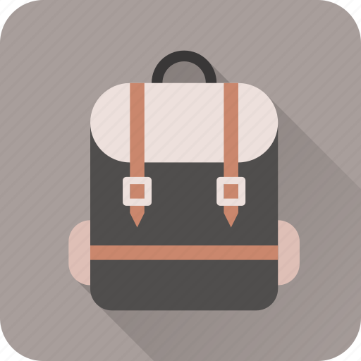backpack, holiday, mountain, travel, vacation icon