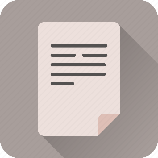 doc, document, file, page, paper, text icon