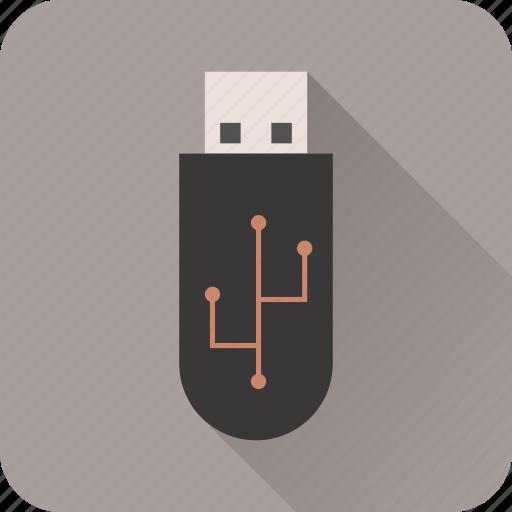 data, disk, drive, flash, storage, usb icon