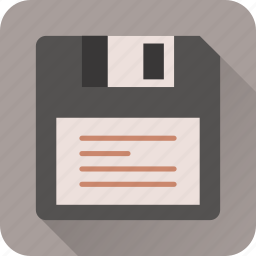 disk, drive, floppy, save, storage, technology icon