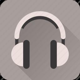 audio, headphones, media, music, player, sound, volume icon