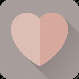 day, favorite, heart, like, love, monotone, valentine icon