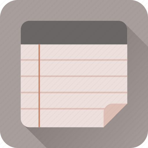 notepad, notes, page, paper, text, write icon