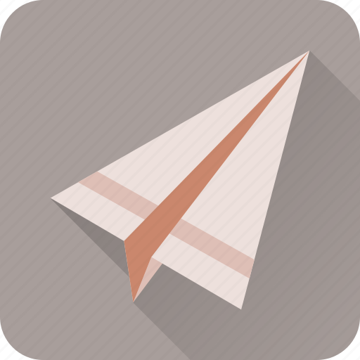 chat, communication, email, message, paper, plane, send icon