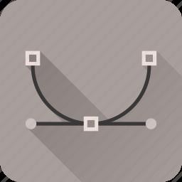 draw, edit, path, photoshop, pixels icon