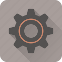 cog, gear, options, setting, settings, tools, vintage icon