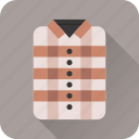 clothes, clothing, fashion, folded, shirt, wardrobe icon