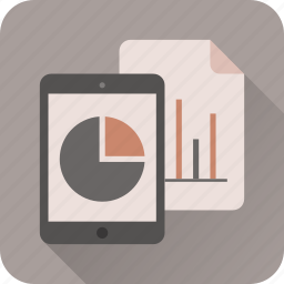 analytics, business, charts, diagram, graph, statistics, stats icon