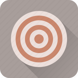 aim, arrow, bullseye, gun, shoot, target icon