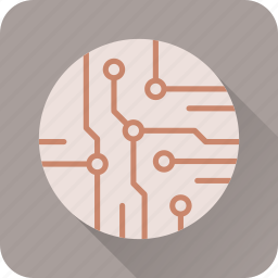 chipset, circuit, device, it, network, tech, technology icon