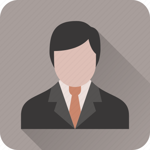 account, avatar, business, businessman, profile, suit, user icon
