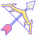 arrow, carry, esports icon