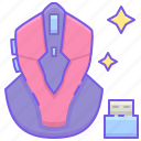 esports, gaming, mouse icon