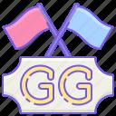 esports, game, gg icon