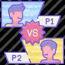 esports, game, pvp icon