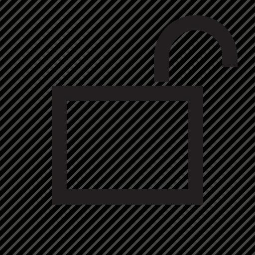 lock, open, password, secure, unlock icon