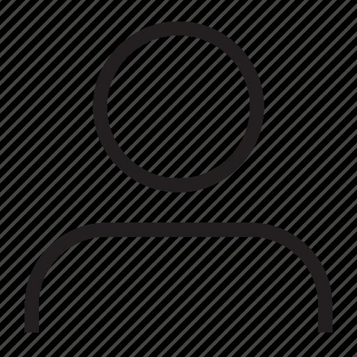 avatar, person, profile, user, who icon
