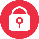 locked, padlock, protection, secure icon