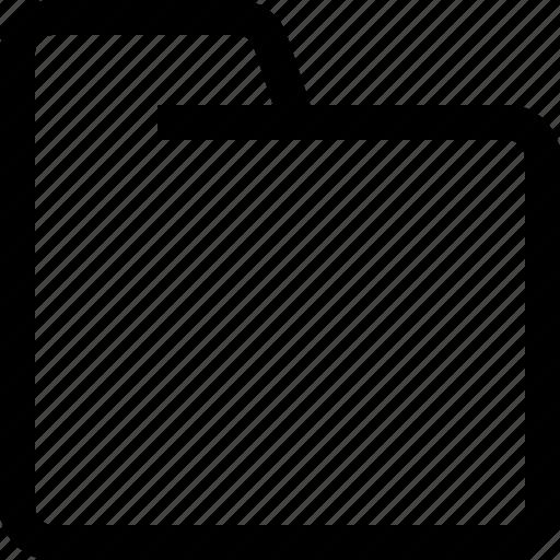 folder, interface, sign, ui icon