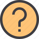 interface, question, sign, ui icon