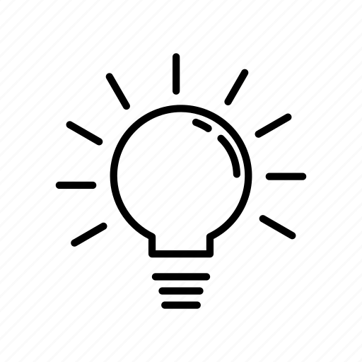 bulb, idea, innovation, lamp icon