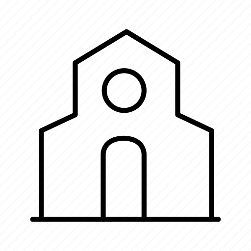 building, church, house, residence icon
