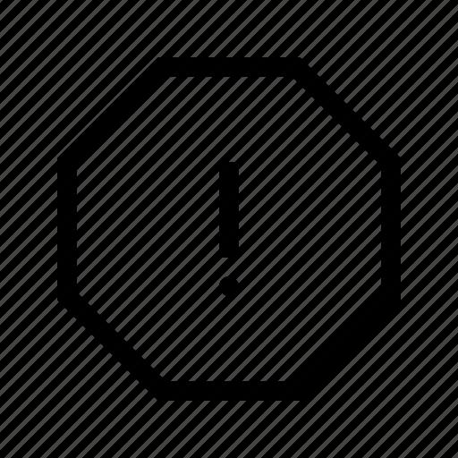 Alarm, alert, attention, caution, danger, error, warning icon - Download on Iconfinder