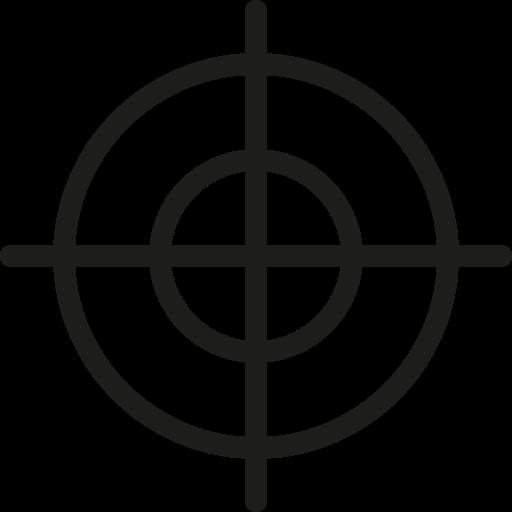 dartboard, focus, goal, marketing, success, target icon