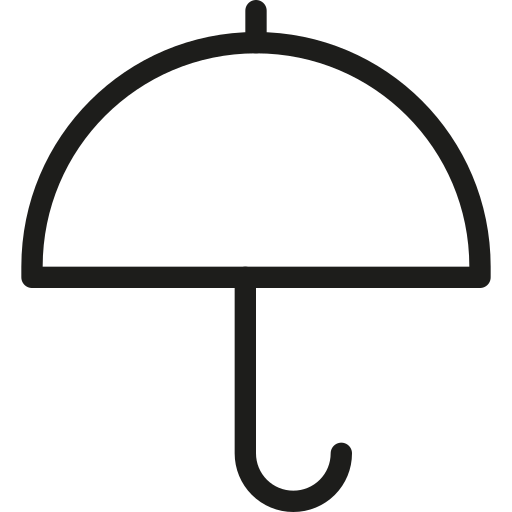 rain, safe, secutiry, umbellera icon