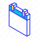 agenda, calendar, date, isometric, schedule icon