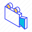 camera, isometric, media, movie, video icon