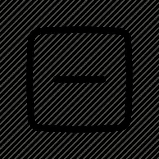 App, delete, minus, remove, ui icon - Download on Iconfinder