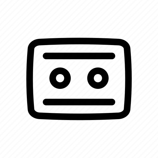 cassette, music, player, radio icon