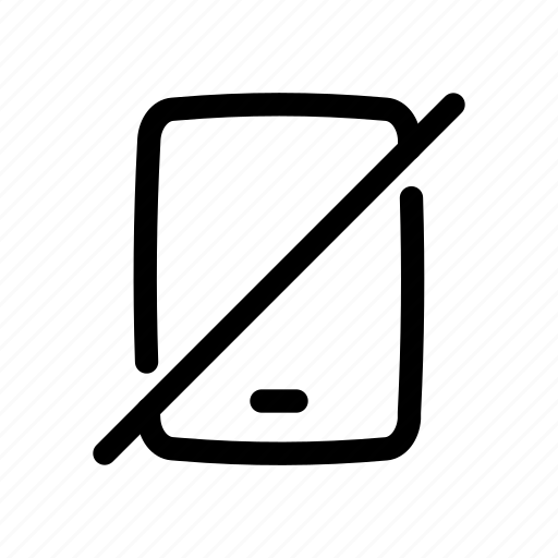 restriction, smartphone, warning icon