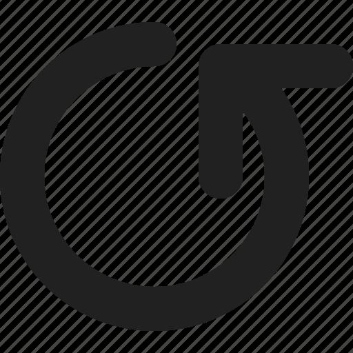 reset, reverse, rewind, rotate icon