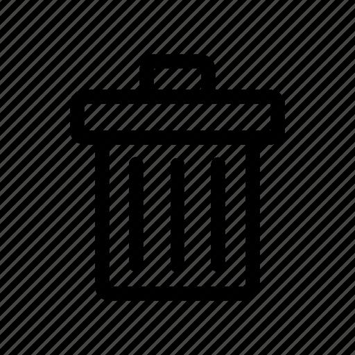 bin, disposal, garbage, recycling, trash icon