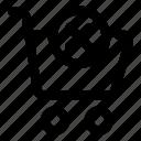 cart, delete, essential, shop, store icon