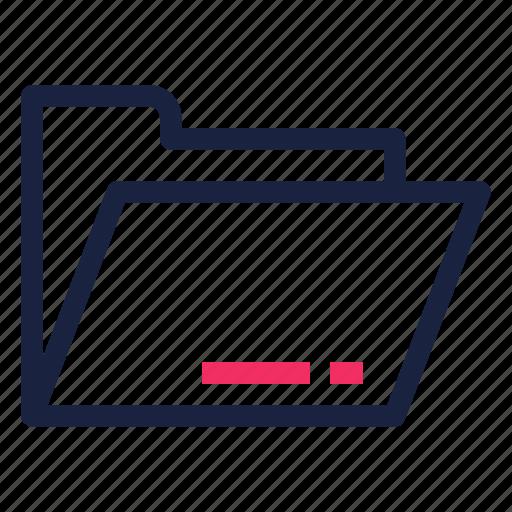 archive, file, folder, open icon