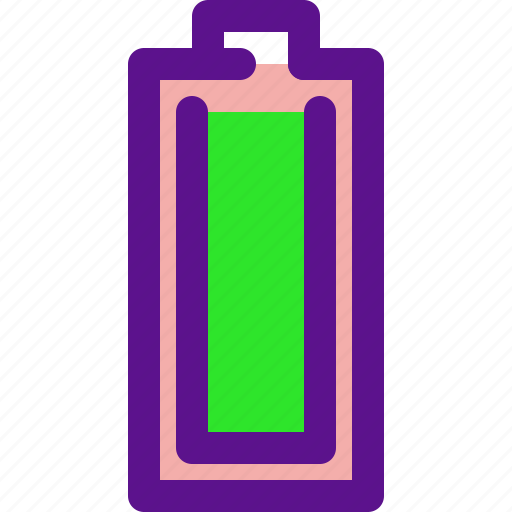 Battery, essential, full, interface icon - Download on Iconfinder