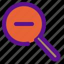decrease, essential, interface icon