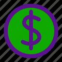 dollar, essential, interface